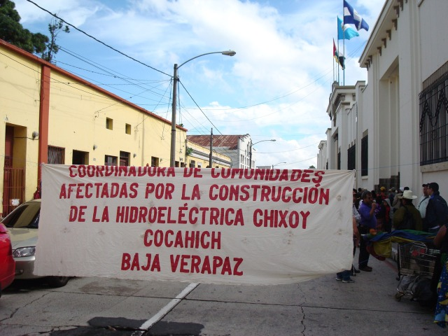 Coordination of Communities Affected by the Construction of the Chixoy Hydroelectric Dam - COCAHICH, Baja Verapaz
