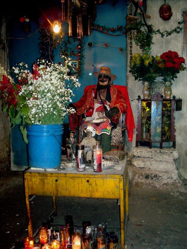 Maximón in San Andrés Xecúl, Guatemala, December 2007