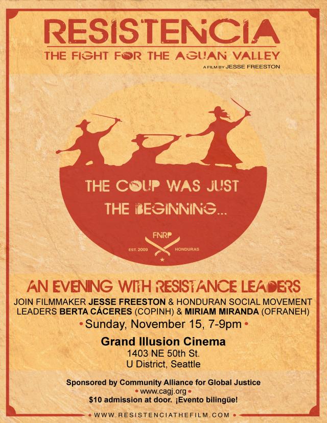 Resistencia - Poster Seattle - ENG - 8-1_2x11